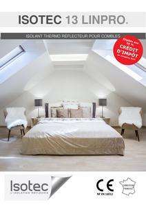 isotec isolation isolants minces r flecteurs pour isoler la toiture les combles am nag s et. Black Bedroom Furniture Sets. Home Design Ideas